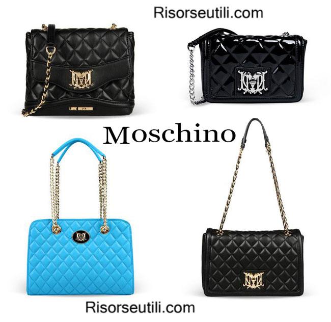 Bags Love Moschino spring summer 2015 womenswear handbags