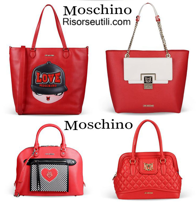 Bags Love Moschino 2015 spring summer accessories