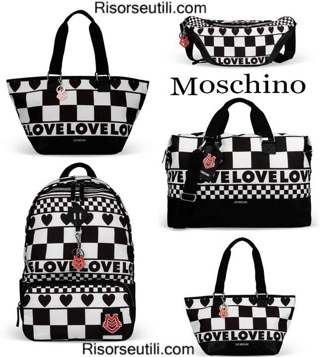Bags Love Moschino spring summer womenswear