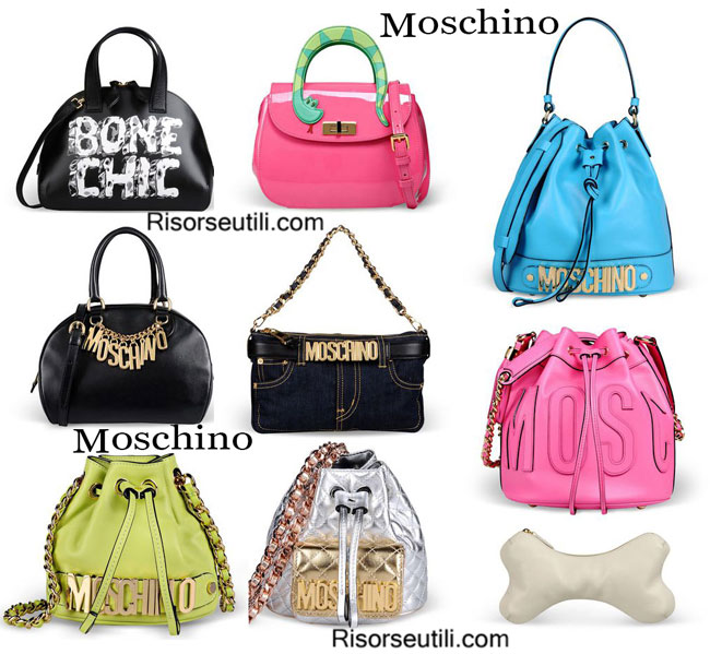 Bags Moschino 2015 spring summer accessories