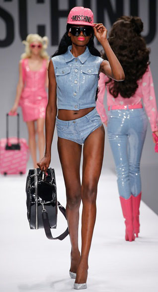 Barbie Moschino Spring Summer 2015 Look 10