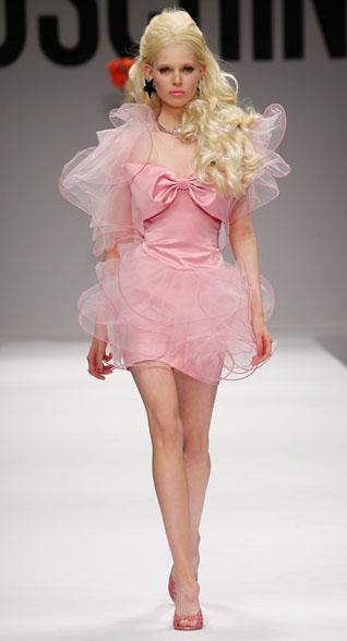 Barbie Moschino Spring Summer 2015 Look 3