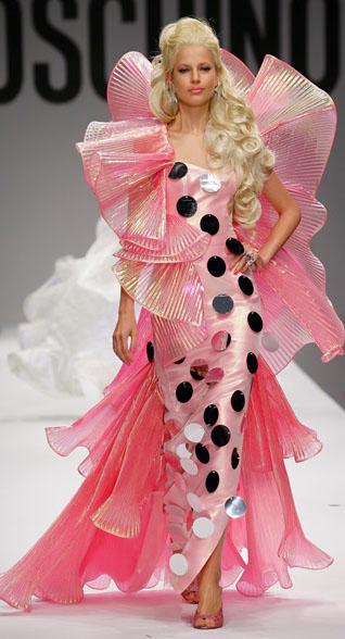 Barbie Moschino Spring Summer 2015 Look 4