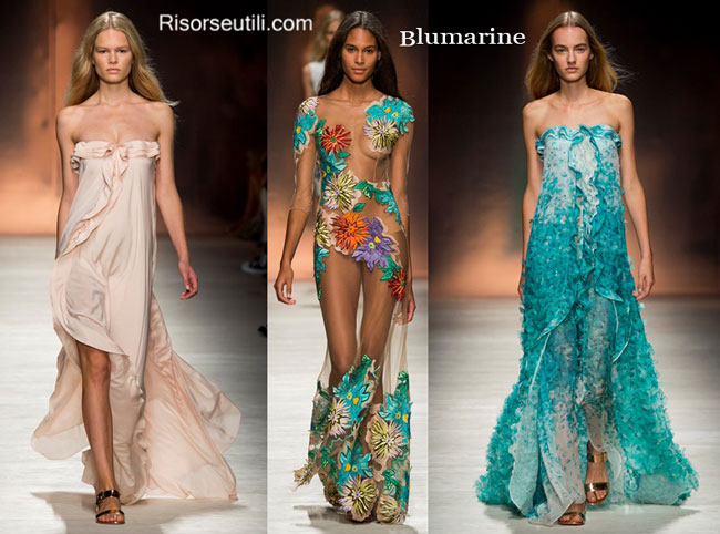 Blumarine spring summer 2015 womenswear
