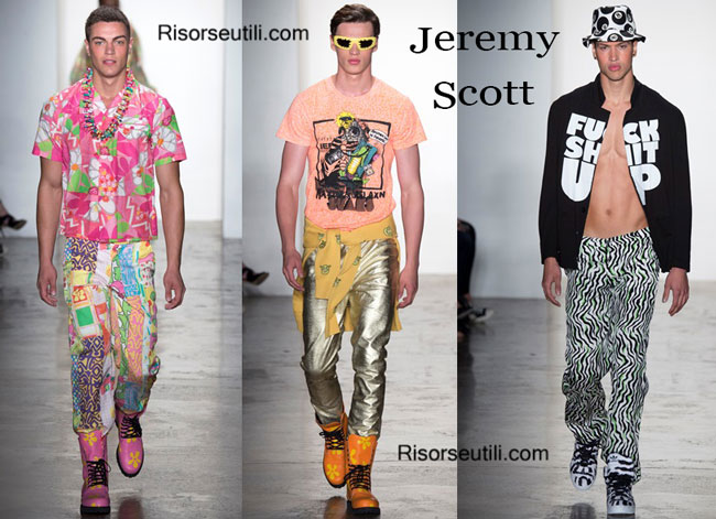 Clothing accessories Jeremy Scott spring summer 2015