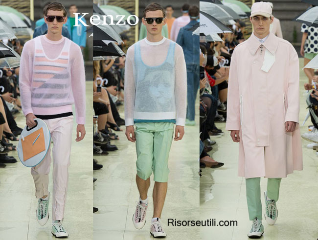 Clothing accessories Kenzo spring summer 2015