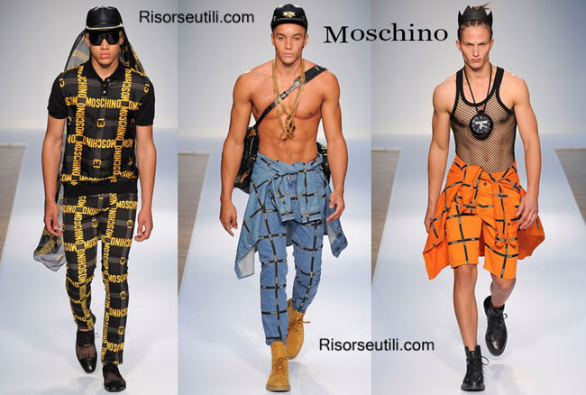 Clothing accessories Moschino spring summer 2015