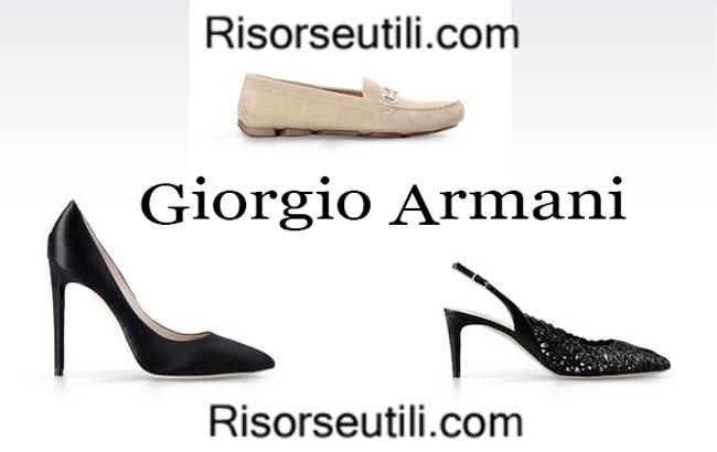 Collection Giorgio Armani 2015 shoes womenswear