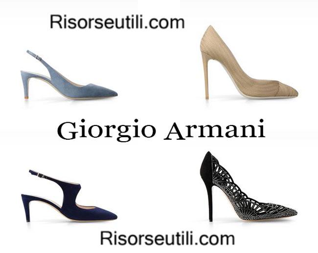 Decollete Giorgio Armani womenswear spring summer