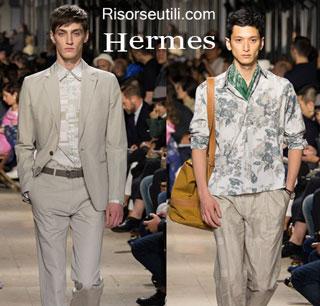 Fashion dresses Hermes spring summer 2015 menswear
