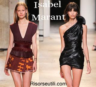 Fashion dresses Isabel Marant spring summer 2015 womenswear