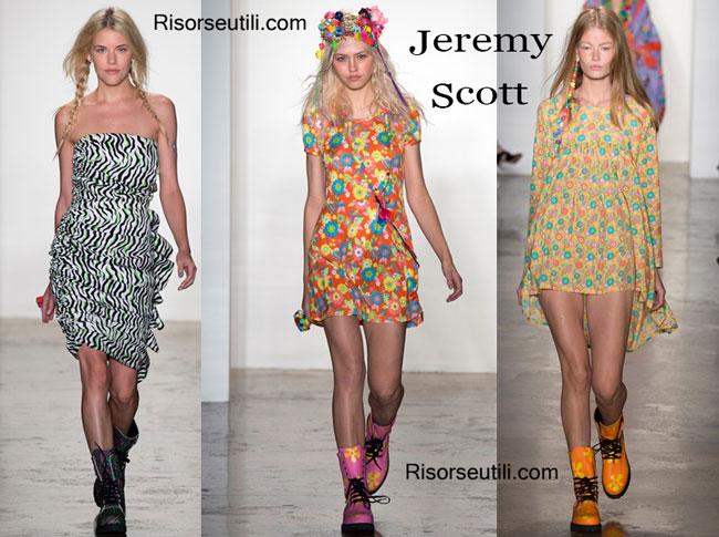 Fashion dresses Jeremy Scott spring summer 2015