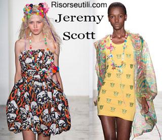Fashion dresses Jeremy Scott spring summer 2015 womenswear