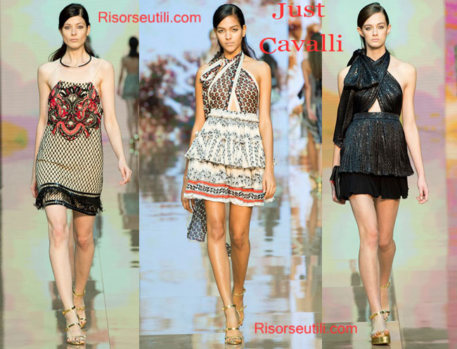 Fashion dresses Just Cavalli spring summer 2015