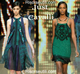 Fashion dresses Just Cavalli spring summer 2015 womenswear