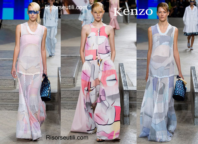 Fashion dresses Kenzo spring summer 2015