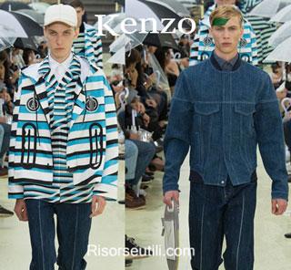 Fashion dresses Kenzo spring summer 2015 menswear