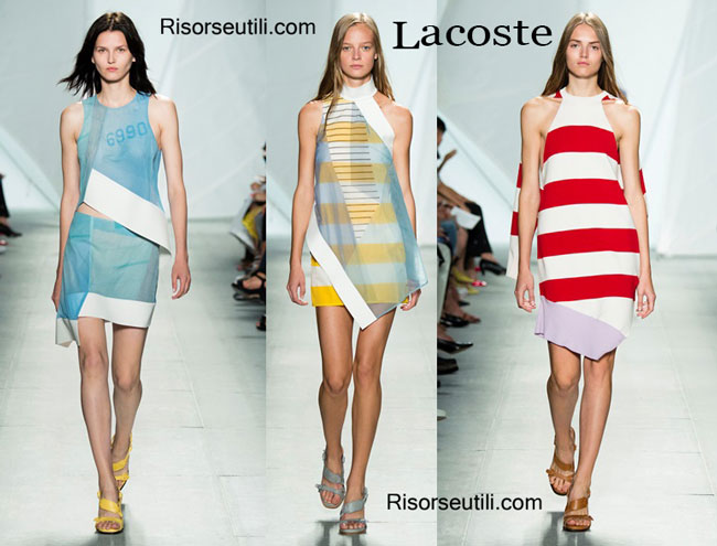 Fashion dresses Lacoste spring summer 2015