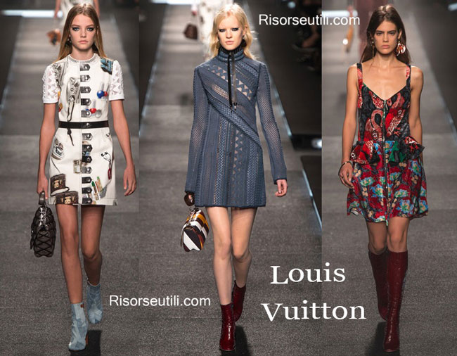 Fashion dresses Louis Vuitton spring summer 2015