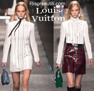Fashion dresses Louis Vuitton spring summer 2015 womenswear