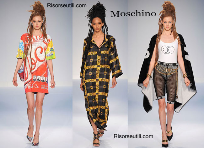 Fashion dresses Moschino spring summer 2015