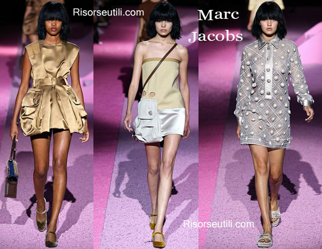 Fashion show dresses Marc Jacobs spring summer 2015