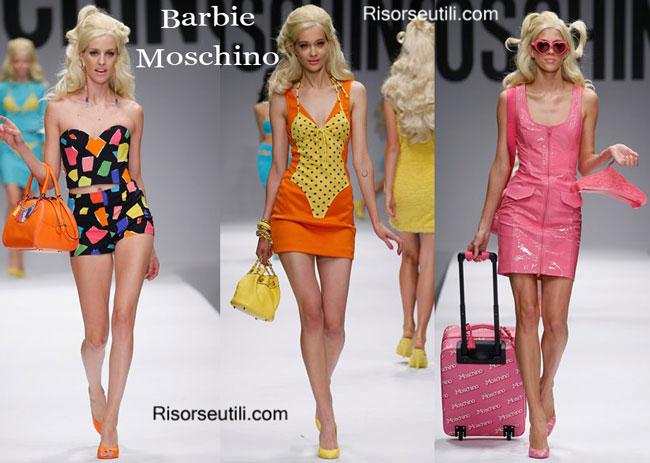 Handbags Barbie Moschino and shoes Barbie Moschino 2015