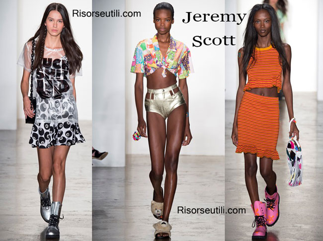 Handbags Jeremy Scott and shoes Jeremy Scott 2015
