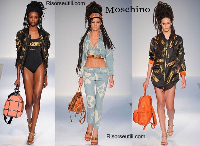 Handbags Moschino and shoes Moschino 2015