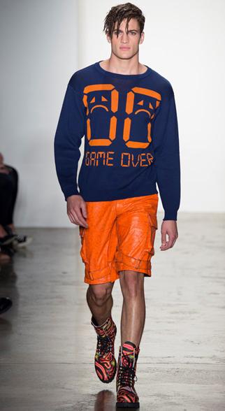 Jeremy Scott Spring Summer 2015 Menswear Look 10