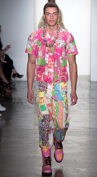 Jeremy Scott Spring Summer 2015 Menswear Look 2