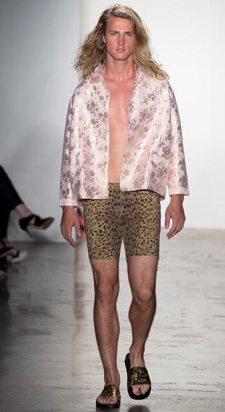 Jeremy Scott Spring Summer 2015 Menswear Look 3