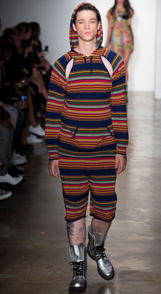 Jeremy Scott Spring Summer 2015 Menswear Look 4