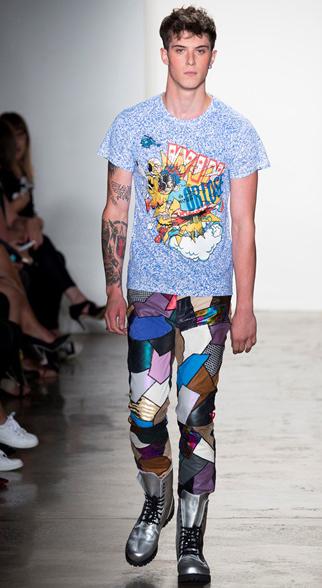 Jeremy Scott Spring Summer 2015 Menswear Look 5