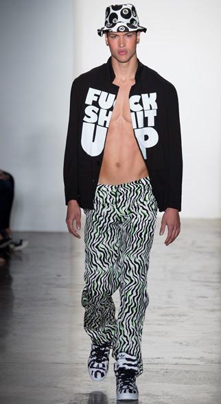 Jeremy Scott Spring Summer 2015 Menswear Look 6