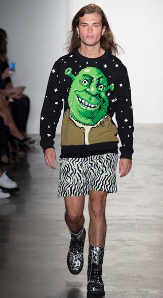 Jeremy Scott Spring Summer 2015 Menswear Look 7