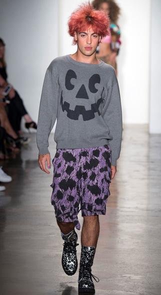 Jeremy Scott Spring Summer 2015 Menswear Look 9
