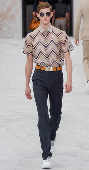 Louis Vuitton Spring Summer 2015 Menswear Look 1