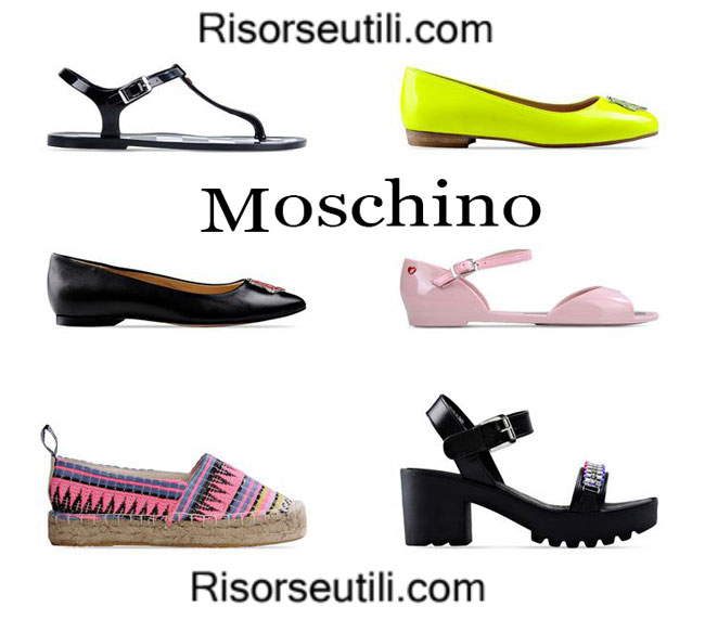 Shoes Love Moschino spring summer 2015