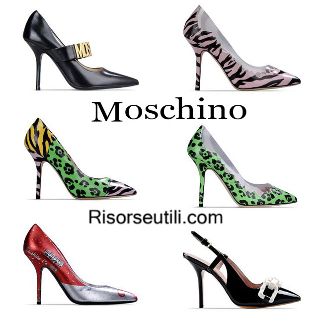 Shoes Moschino spring summer 2015
