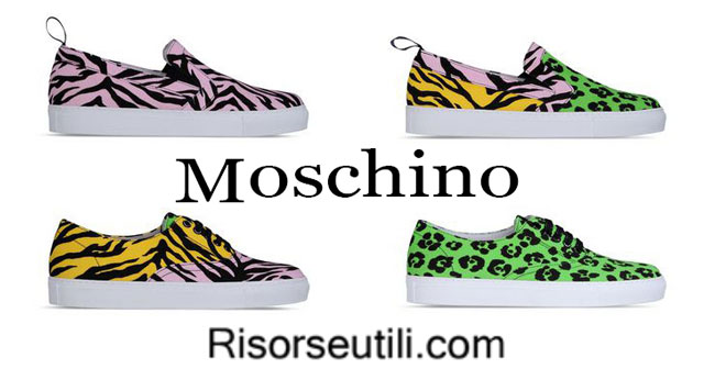 Shoes Moschino womenswear spring summer