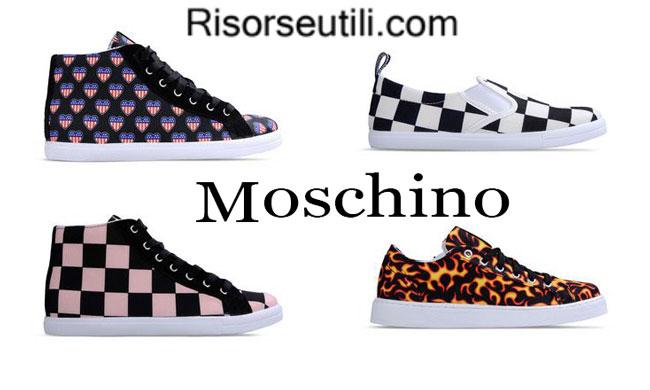 Sneakers Love Moschino womenswear spring summer