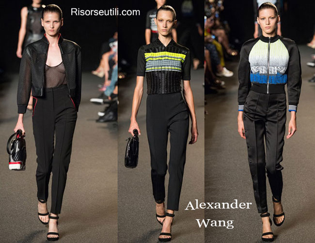 Accessories Alexander Wang spring summer 2015