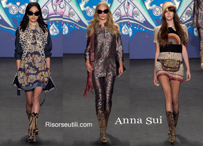 Accessories Anna Sui spring summer 2015