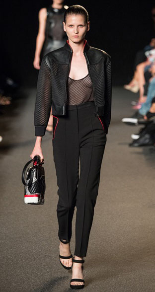 Alexander Wang Spring Summer 2015 Look 9