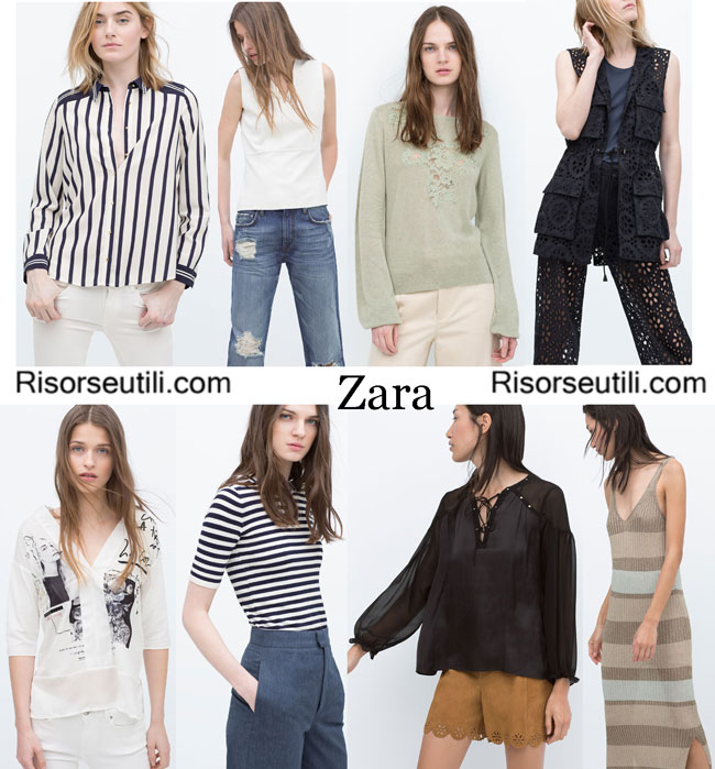 Collection Zara 2015 womenswear