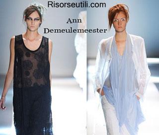 Dresses Ann Demeulemeester spring summer 2015 womenswear