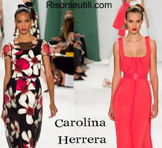 Dresses Carolina Herrera spring summer 2015 womenswear