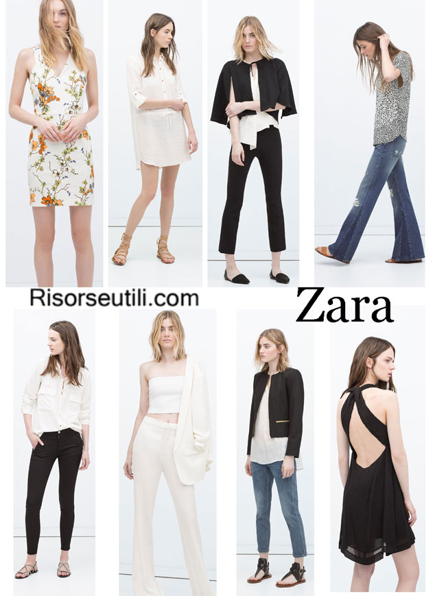 Dresses Zara spring summer 2015 womenswear