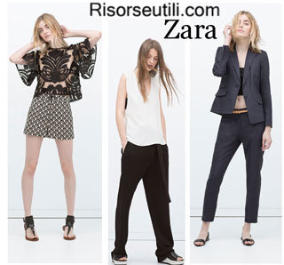 Fashion brand Zara spring summer 2015 womenswear designer